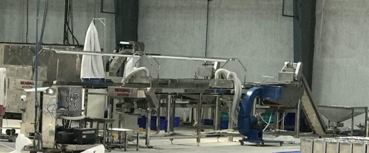 Cashew kernel vacuum packing machine