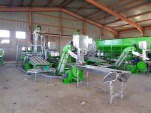 MEKONG cashew size sorting machine