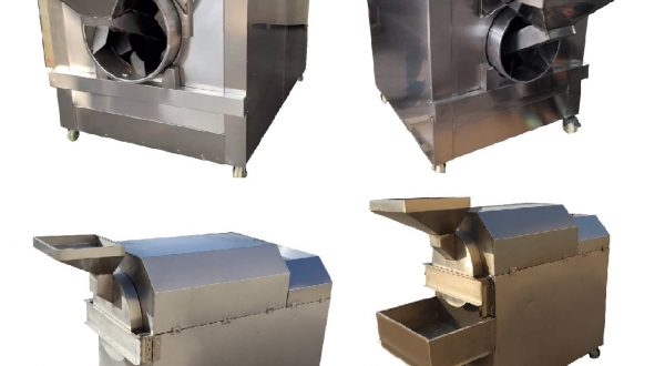 Automatic Cashew kernel roasting machine