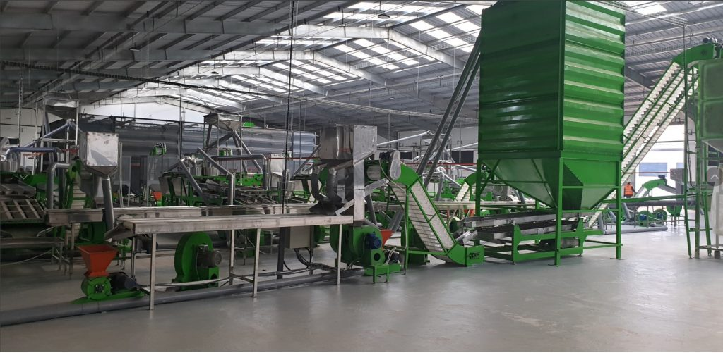 New Modern Automatic cashew processing plant VN-2022